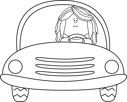 svg transparent Cars black and white clipart.  collection of drive