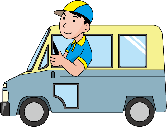 png free library Driver clipart. Free truck cliparts download