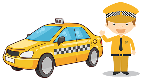 svg royalty free stock Taxi drawing animation. Interesting driver clipart safe.