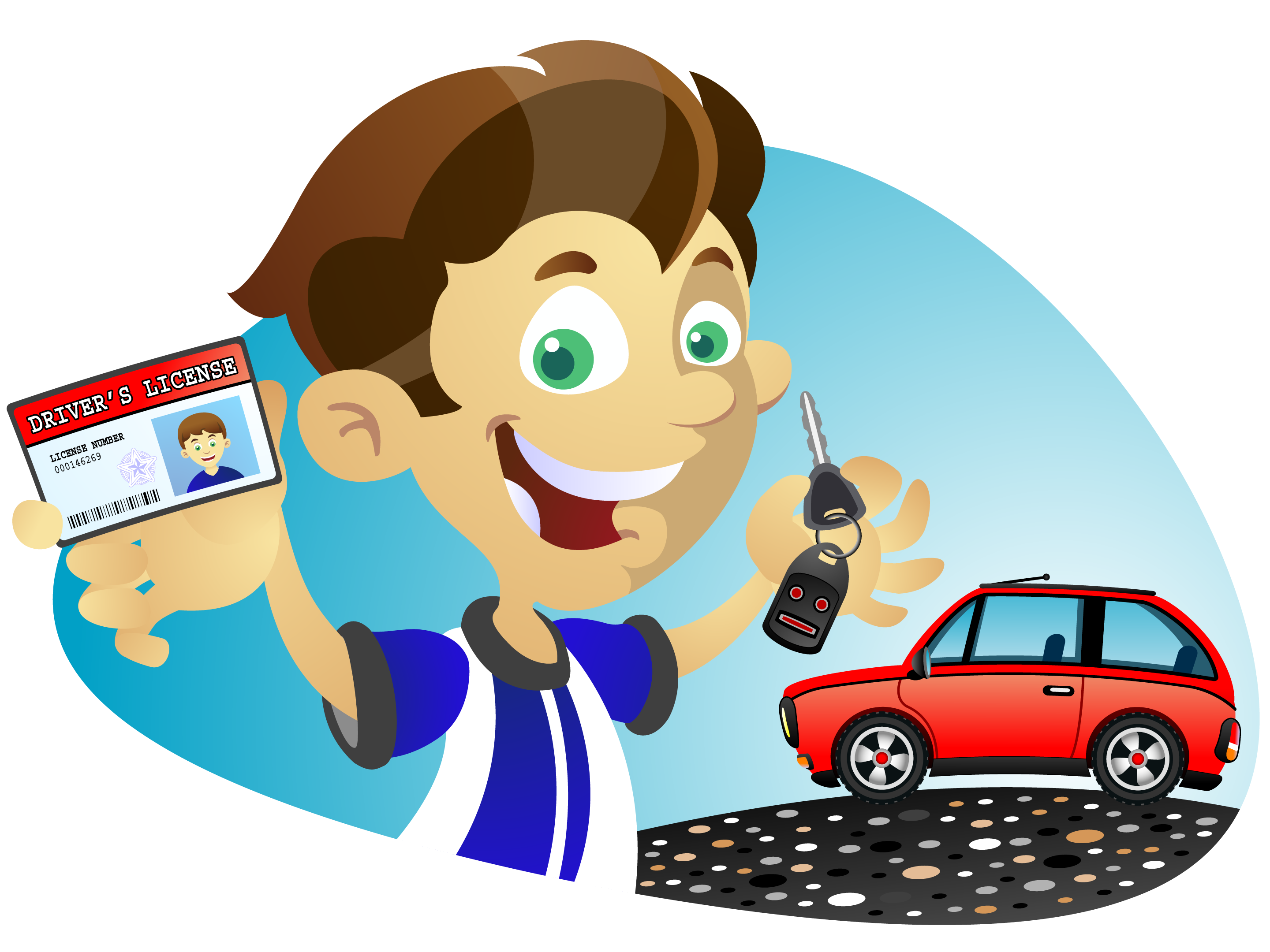 svg royalty free download Drivers license clipart. Driving lesson free on