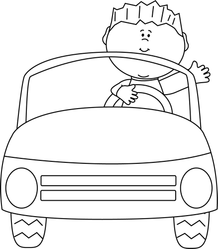 clip transparent library Cars black and white clipart. Car clip art images
