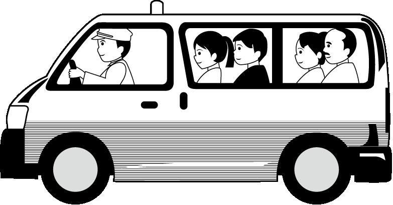 clip art library stock minivan clipart taxi bus #81098027
