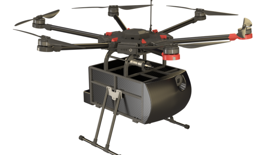 vector library library Israeli company to deliver food by drone in Iceland