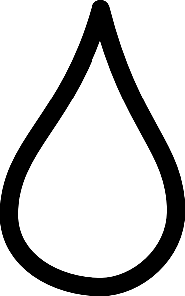 vector library White tear drop clip. Drops clipart one.