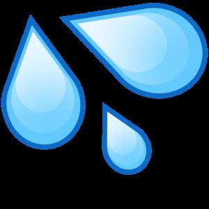 picture black and white stock Pretty Design Ideas Water Droplet Clipart Drop Emoji Cutouts