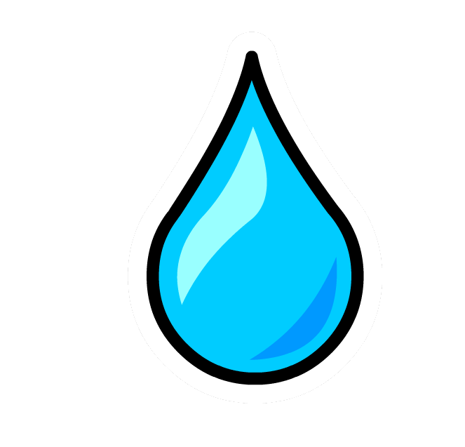 clipart royalty free stock Droplet clipart. Water drop blue free.