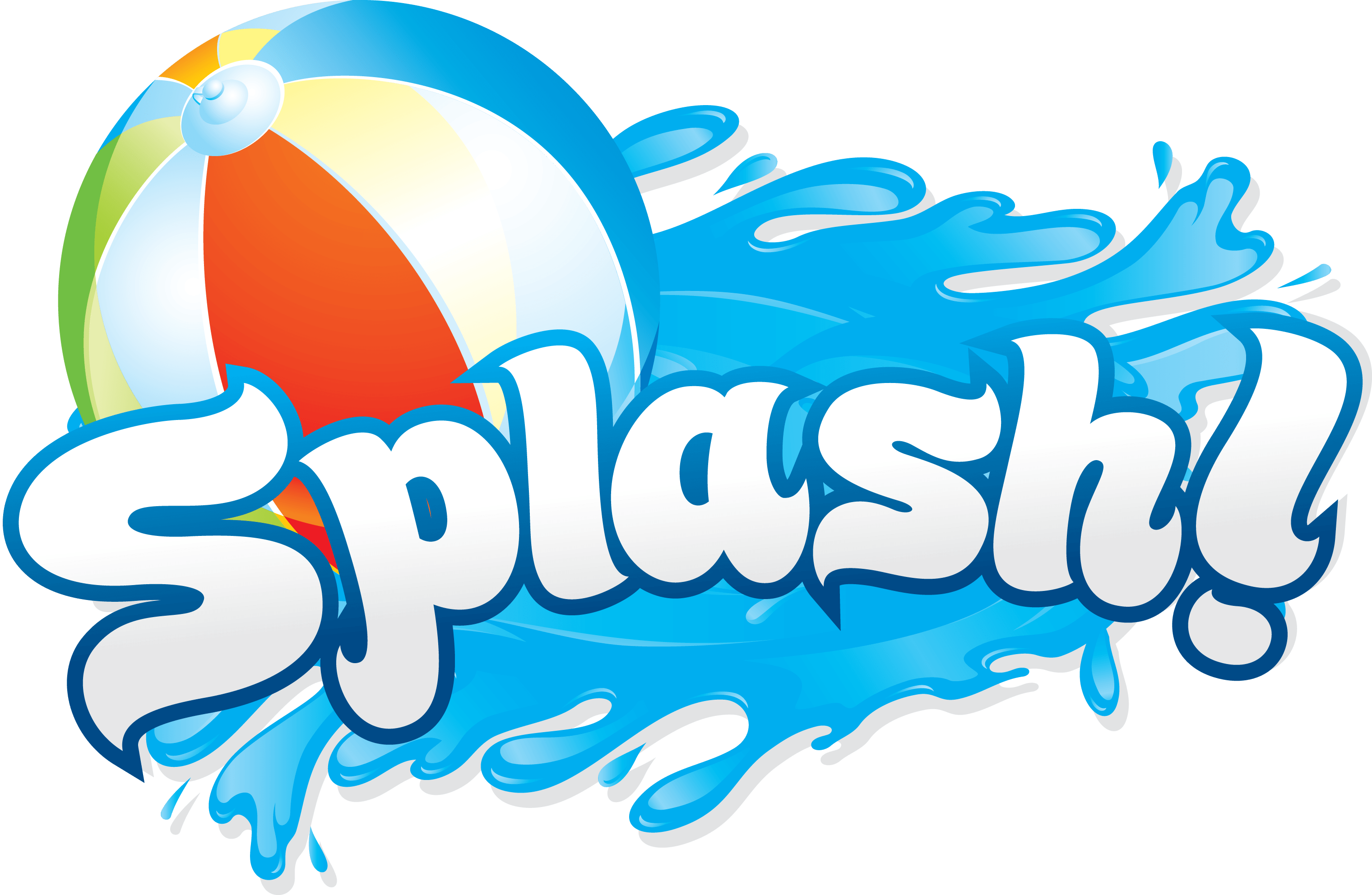 picture library library Borde de Clip Clip de Pool Splash