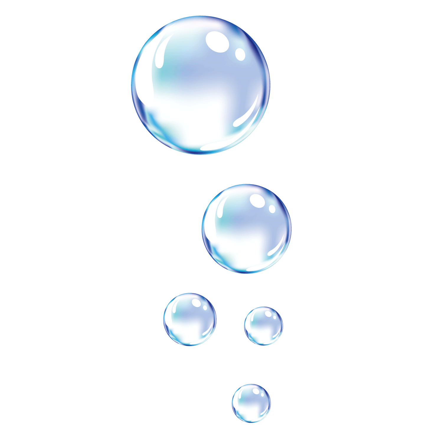 svg stock Vector bubble glass. Dynamic water droplets transprent