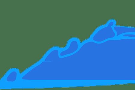 png freeuse blue water splash vector