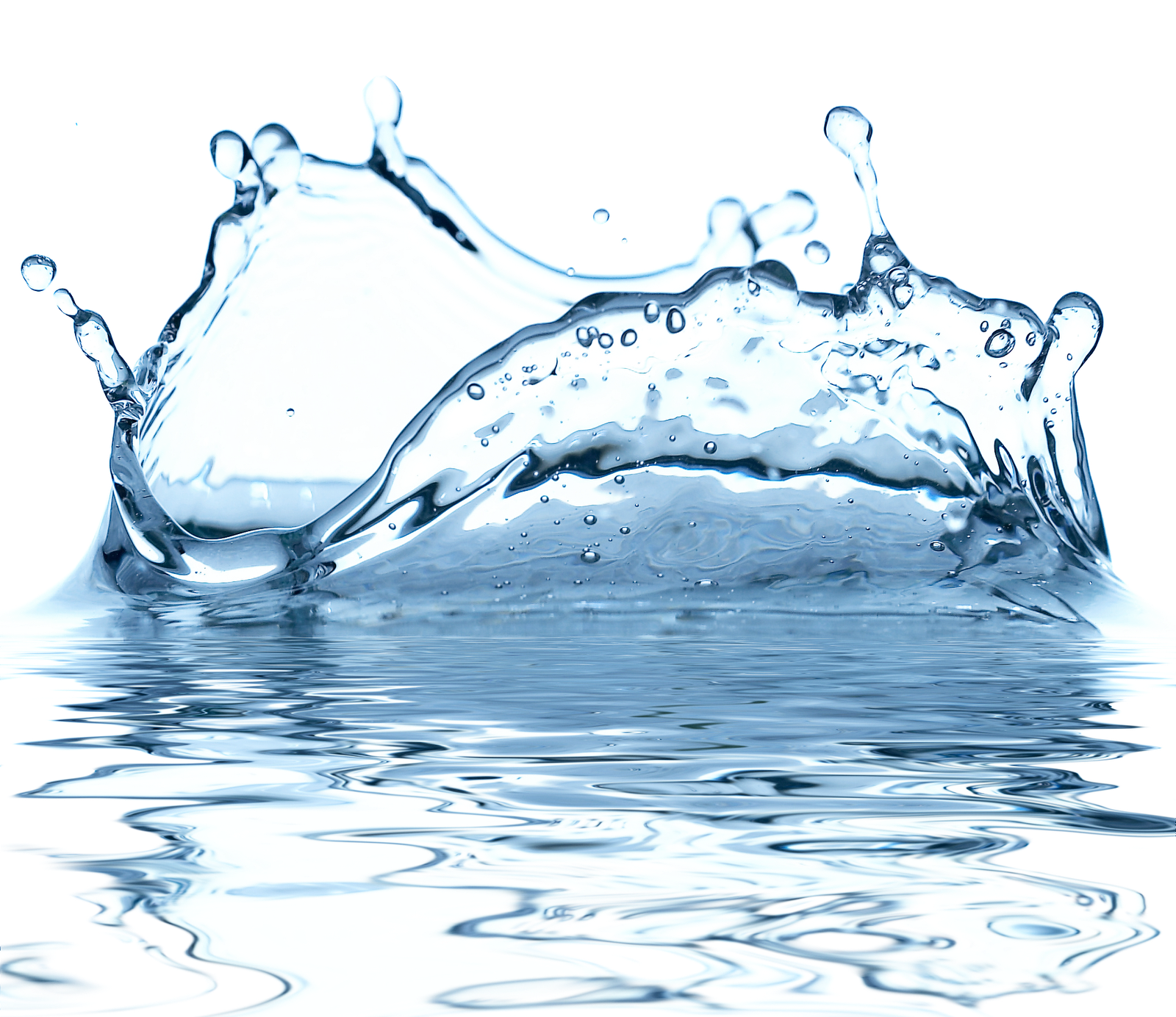 banner free Drawn water droplets effect. Transparent splash high resolution