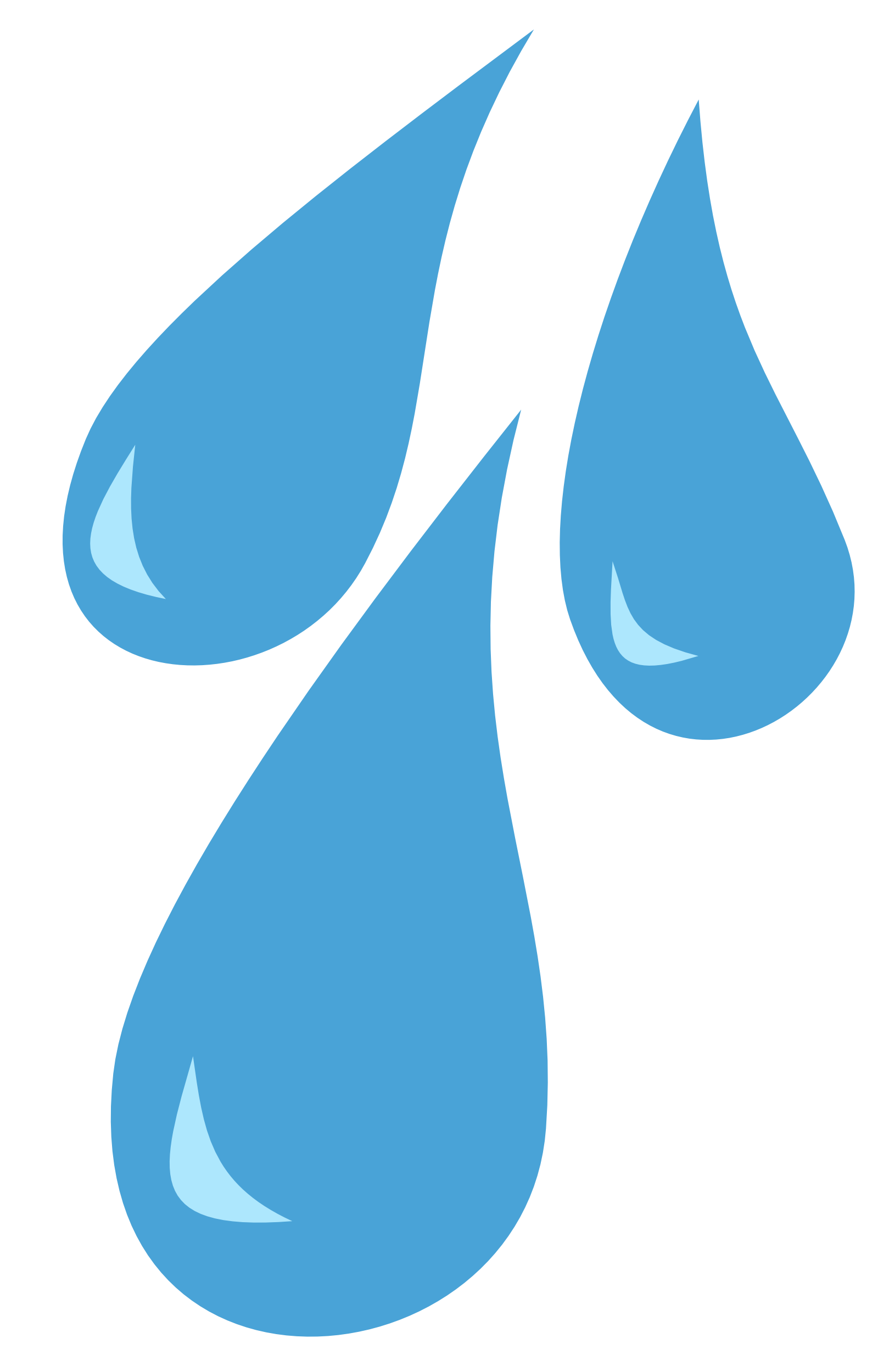 clipart free stock Droplet clipart water blast. Drop rain pencil and