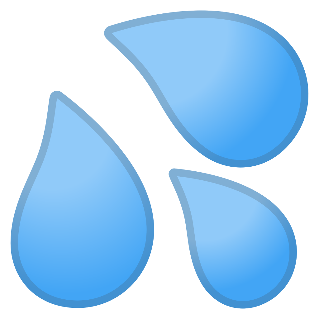svg transparent stock Sweat droplets Icon