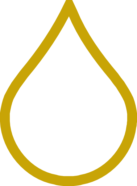 graphic free download Oil Drop Gold Clip Art at Clker