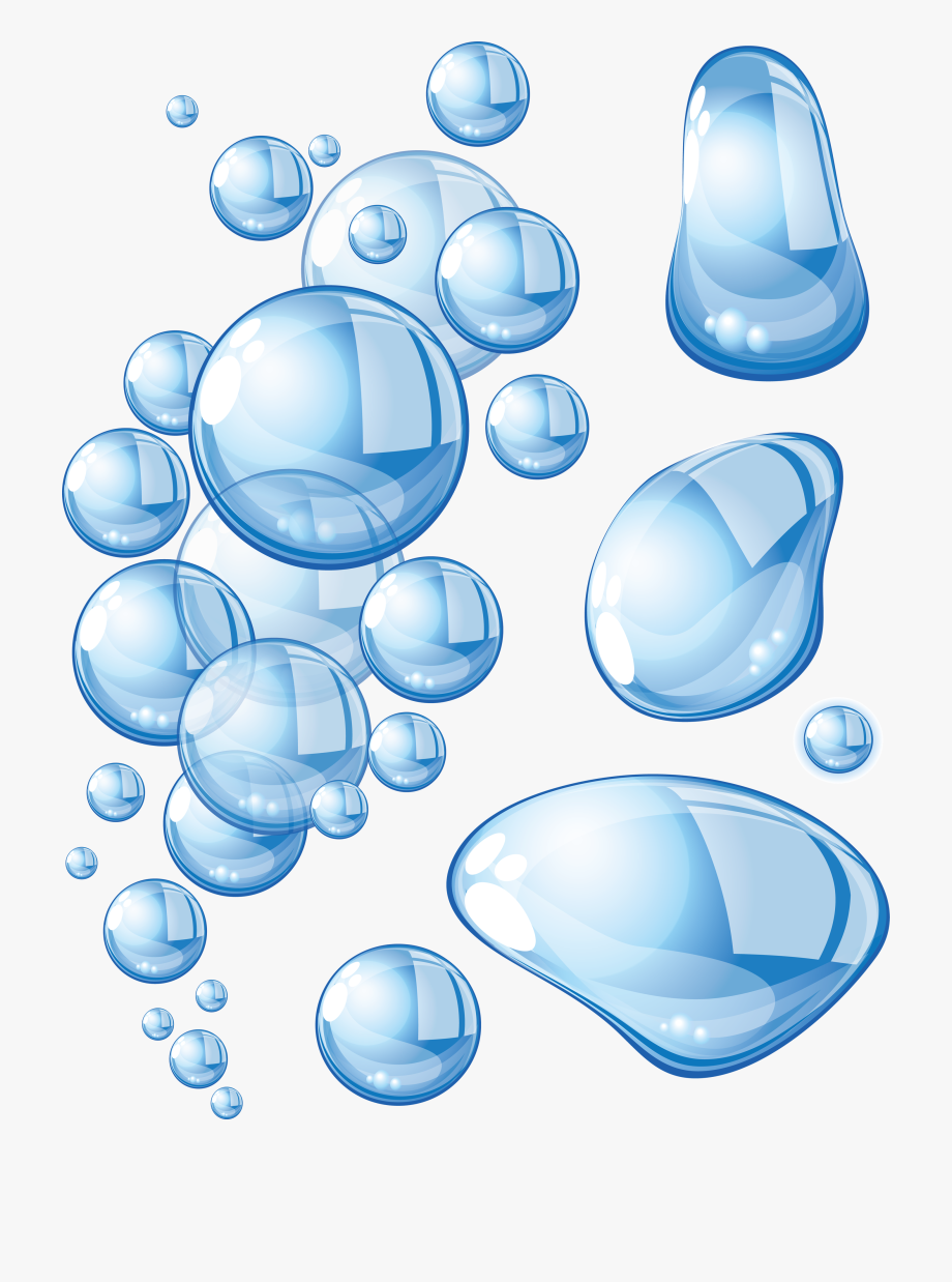 clip art library download Different shape of water. Drops clipart one