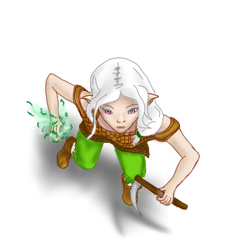 clip library druid drawing female #112452434
