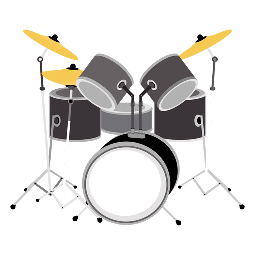 clip library stock Musical instruments clip art. Drums transparent cartoon