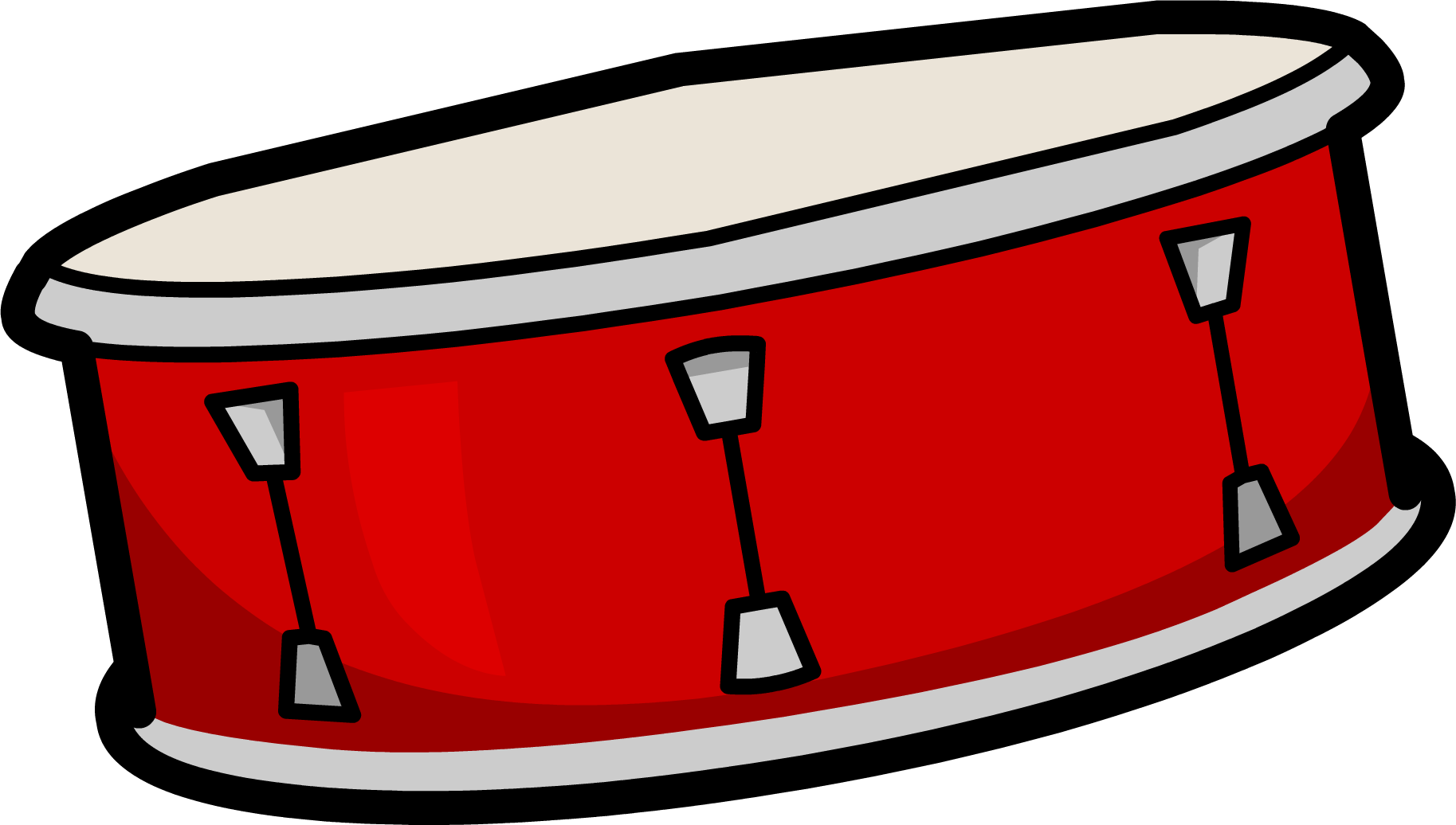 svg library Drum clipart. Club penguin free on.