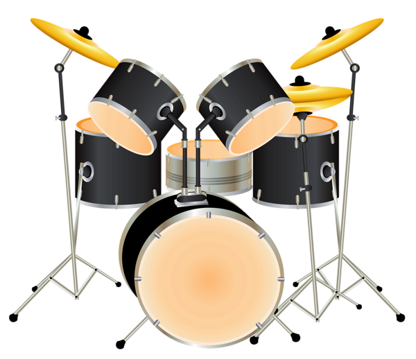 banner free stock Music clipart drum. Kit png picture cards.