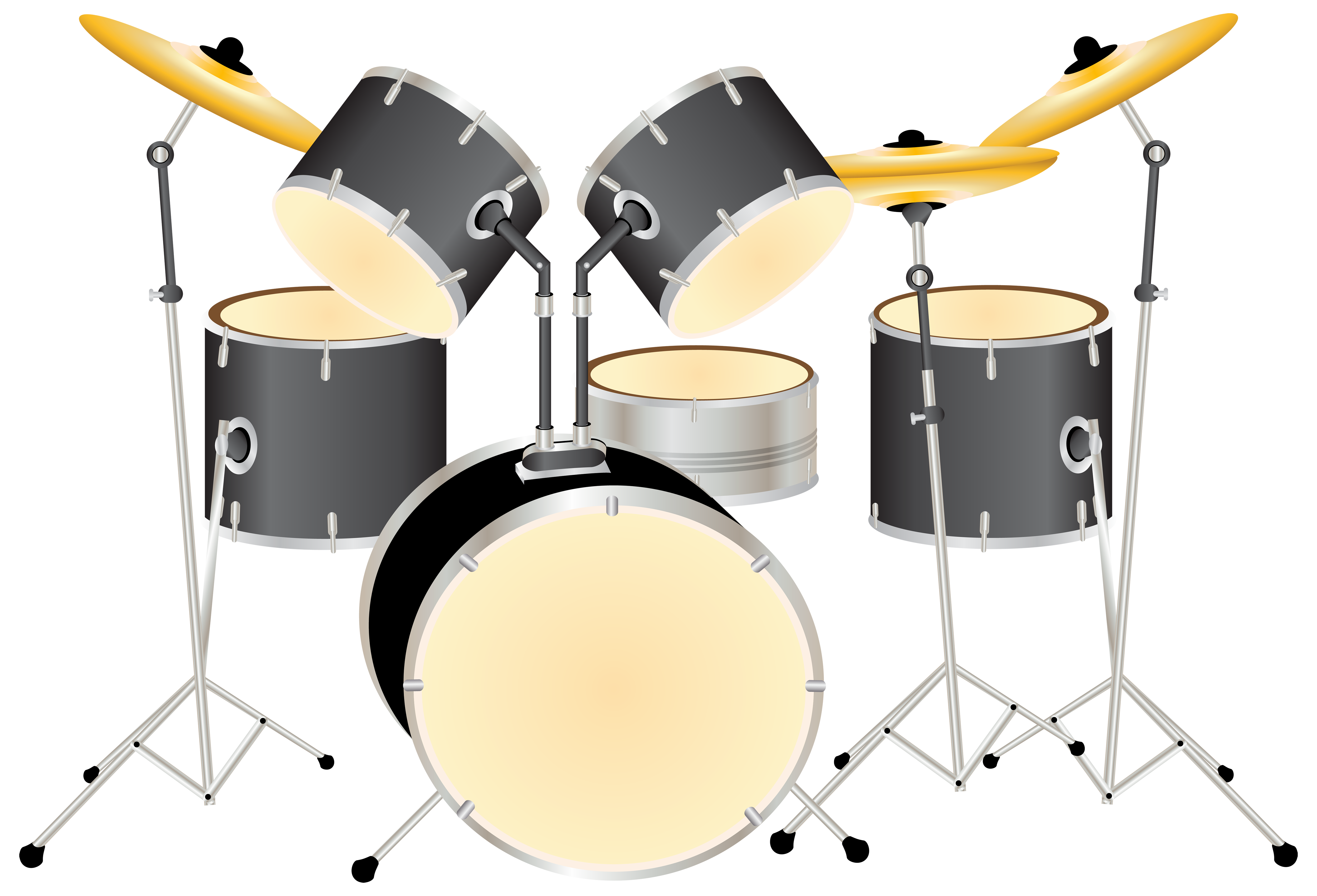 svg download Drums transparent drum kit. Png clipart best web