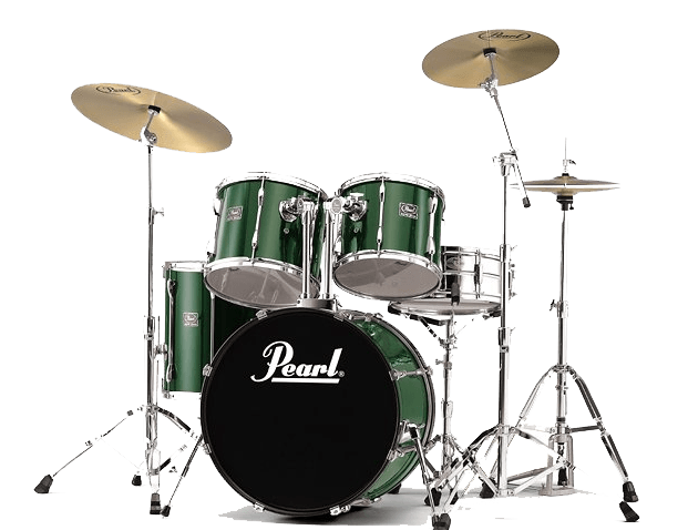 transparent stock Drums Green Pearl transparent PNG