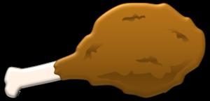 clip free Fried Chicken Leg