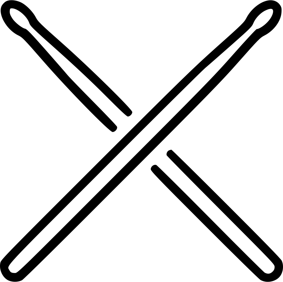 svg library stock Drumsticks vector. Svg png icon free