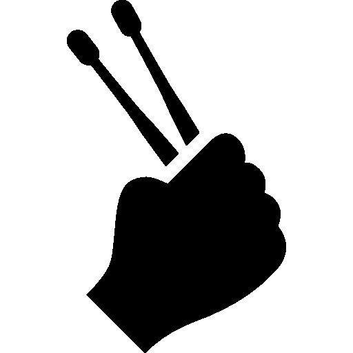 banner freeuse Drumsticks vector. Drumstick icon .