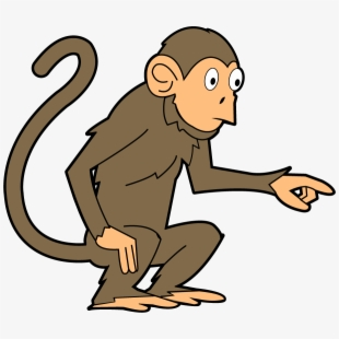 picture library stock Png monkey cliparts cartoons. Ape clipart mankey