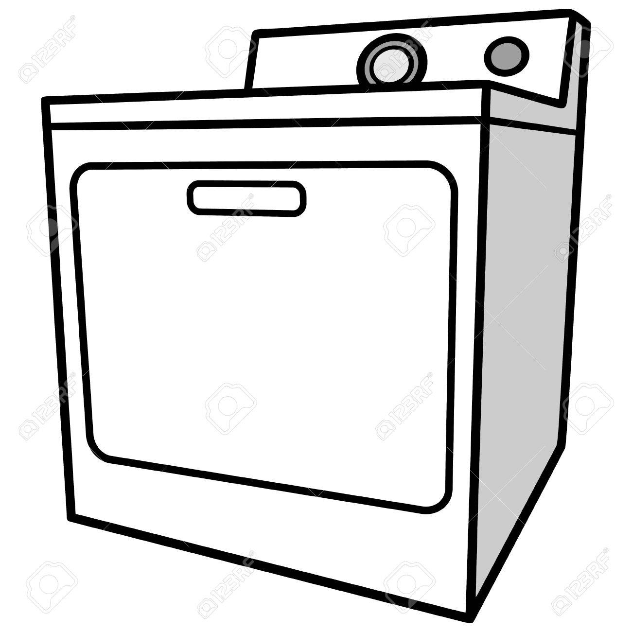 clipart free stock Dryer clipart. Station .