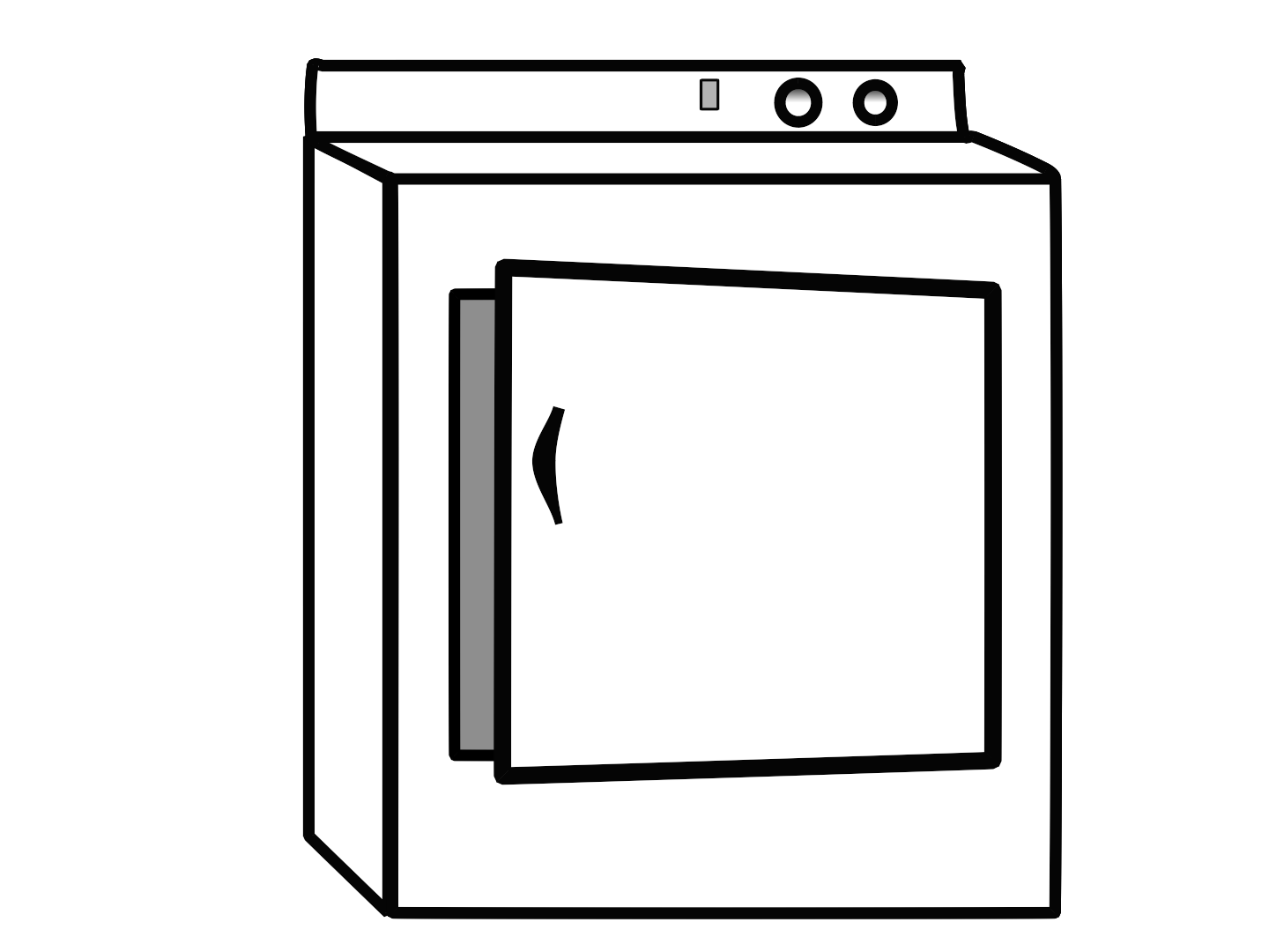 clip royalty free stock Dryer clipart. Clothes for modern transparent.