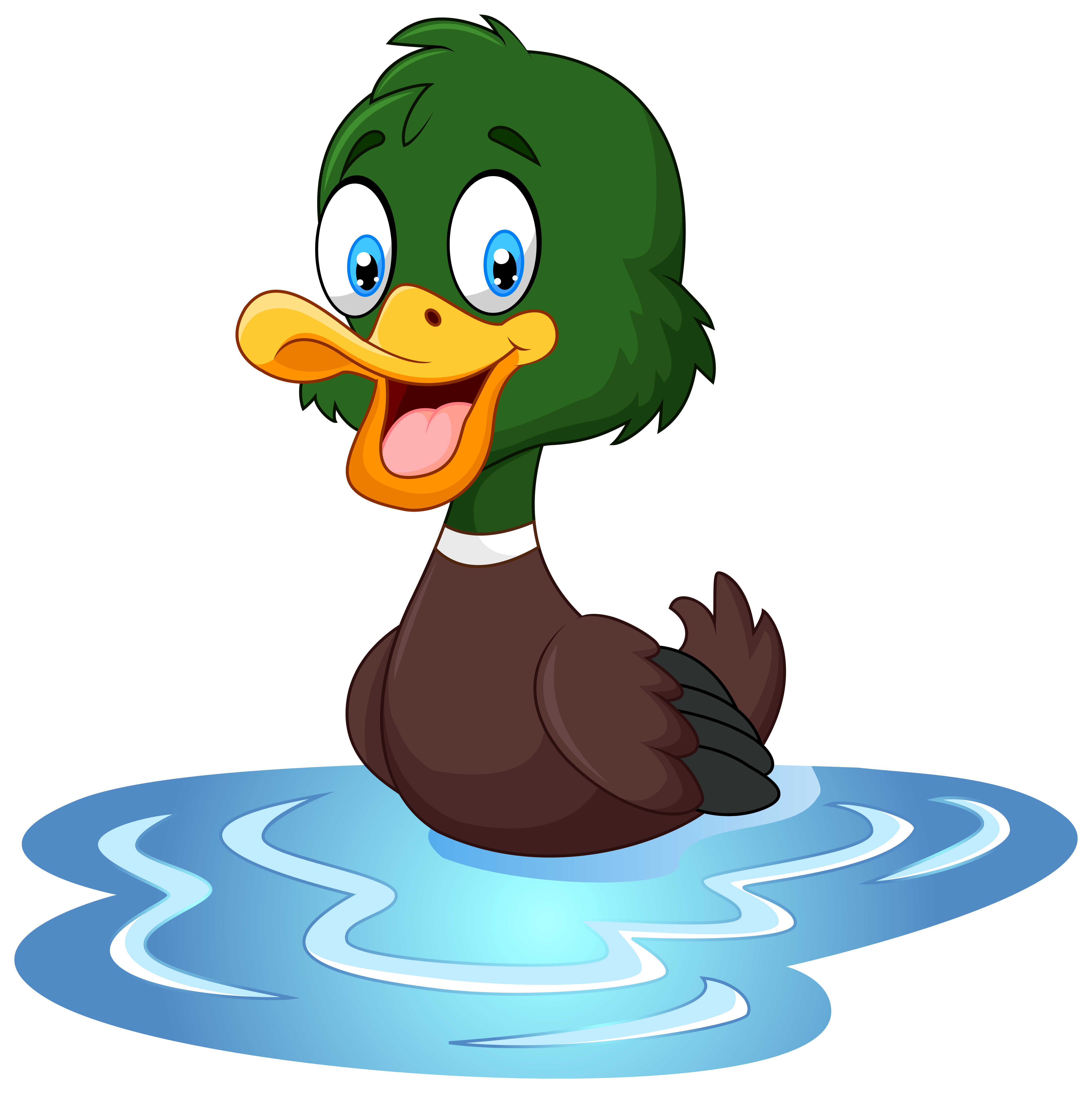 picture transparent library Duck clipart. Png clip art image