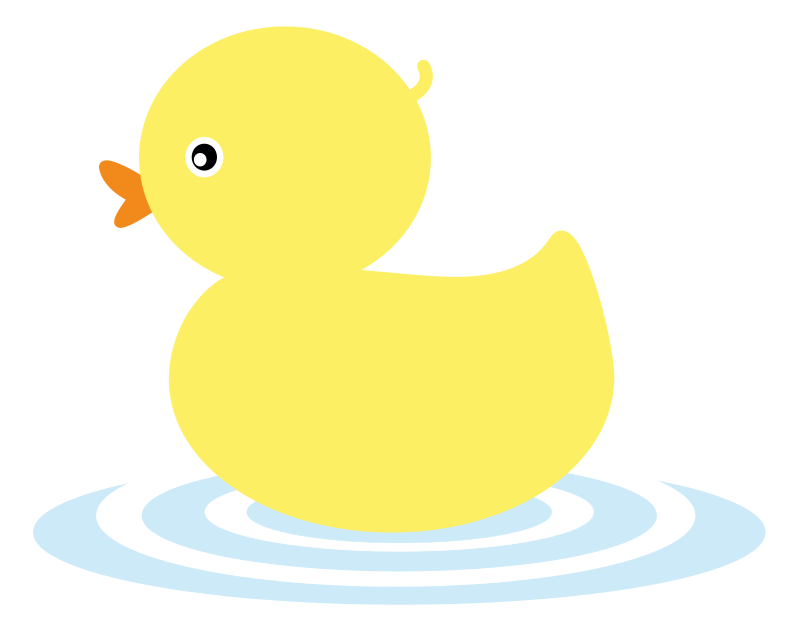 vector royalty free Cute . Duck clipart.