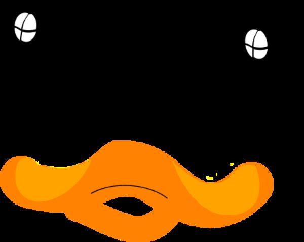 banner free stock Duck Face Clip Art