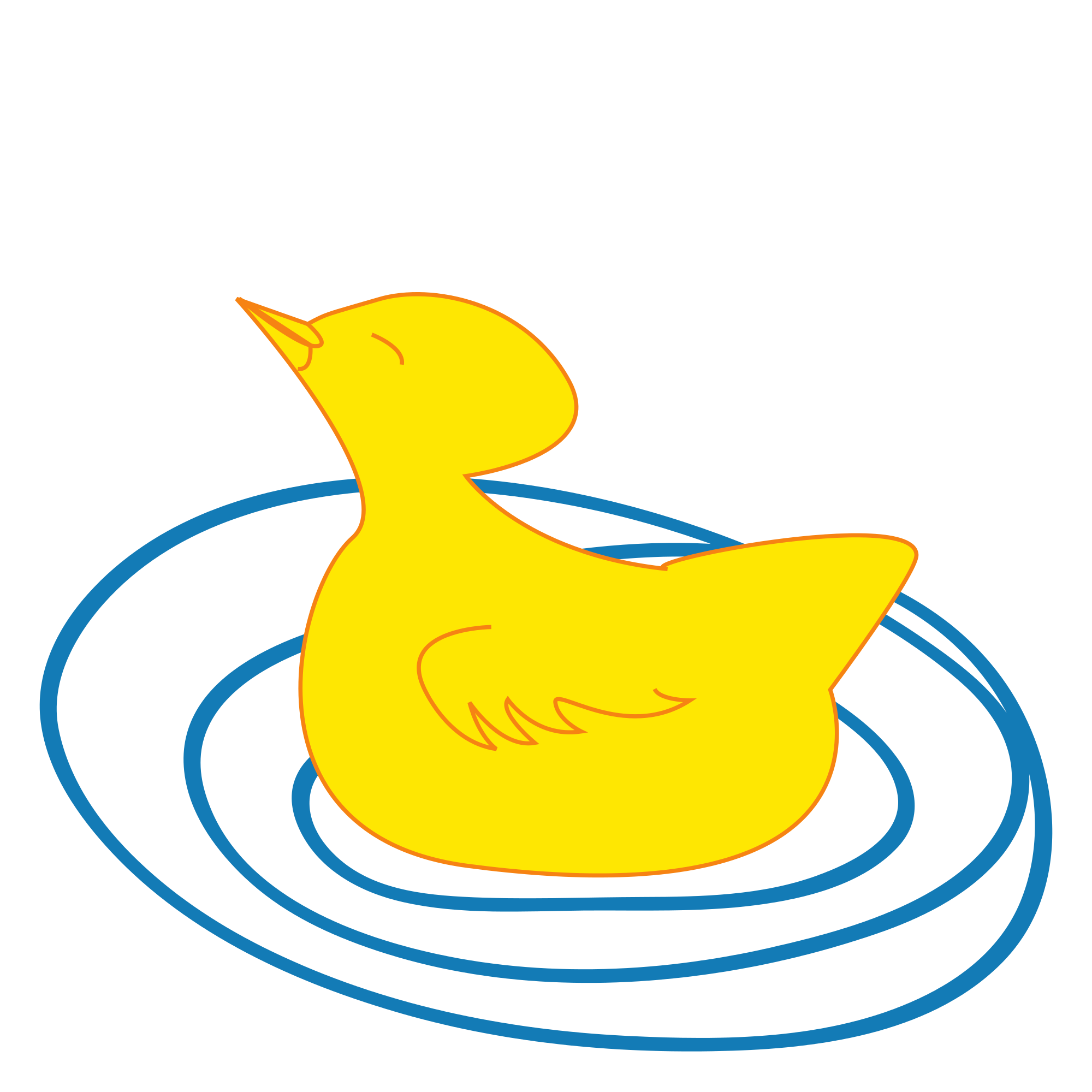 clip freeuse library File of a duckling. Duck svg drawing