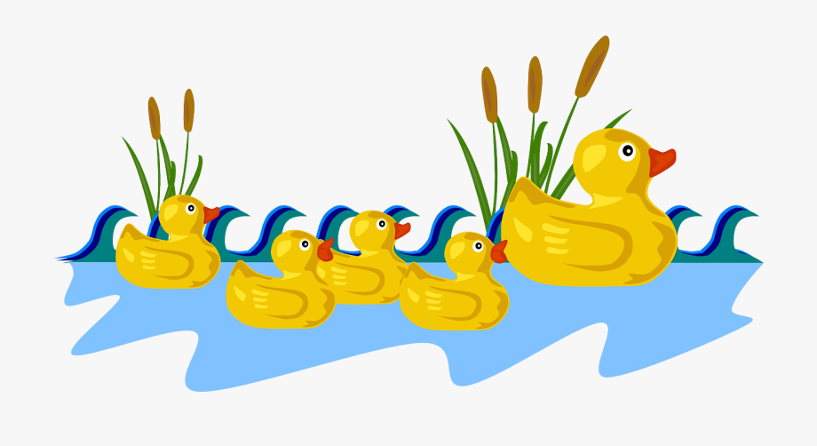 clipart royalty free download Ducks clipart. Rubber duck family by