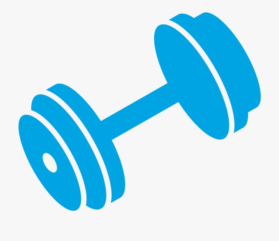 vector freeuse stock Dumbbell clipart. Hand jpg blue barbell