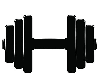 picture royalty free stock Dumbbells clipart. Dumbbell free download on