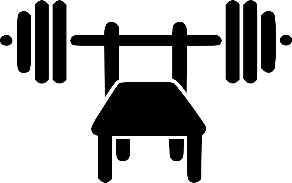 vector transparent library Bench Press Svg Png Icon Free Download
