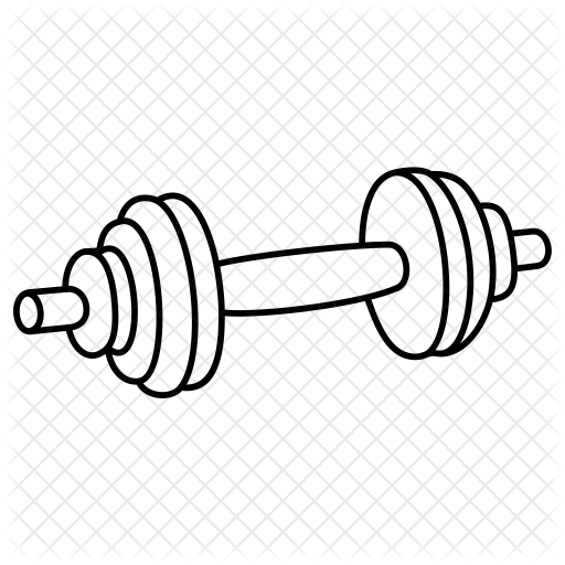 graphic black and white stock Dumbbell Drawing at GetDrawings