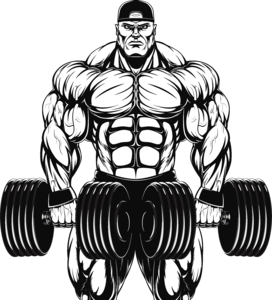png transparent library dumbbells drawing bodybuilder #96030568