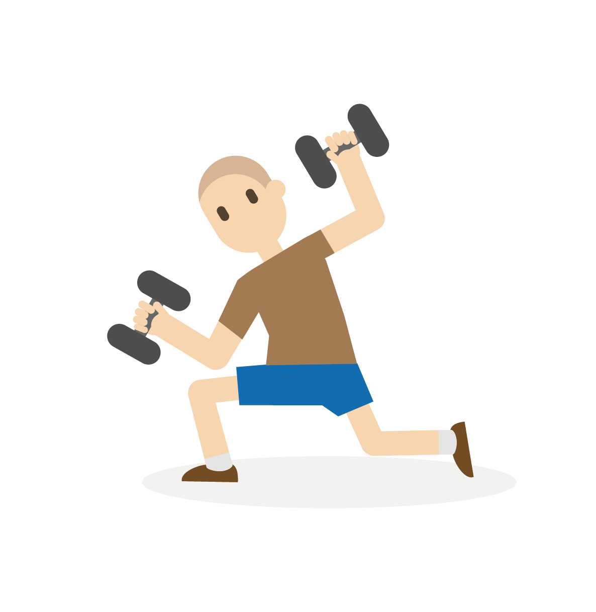 royalty free library Bodybuilding Cartoon Fitness centre