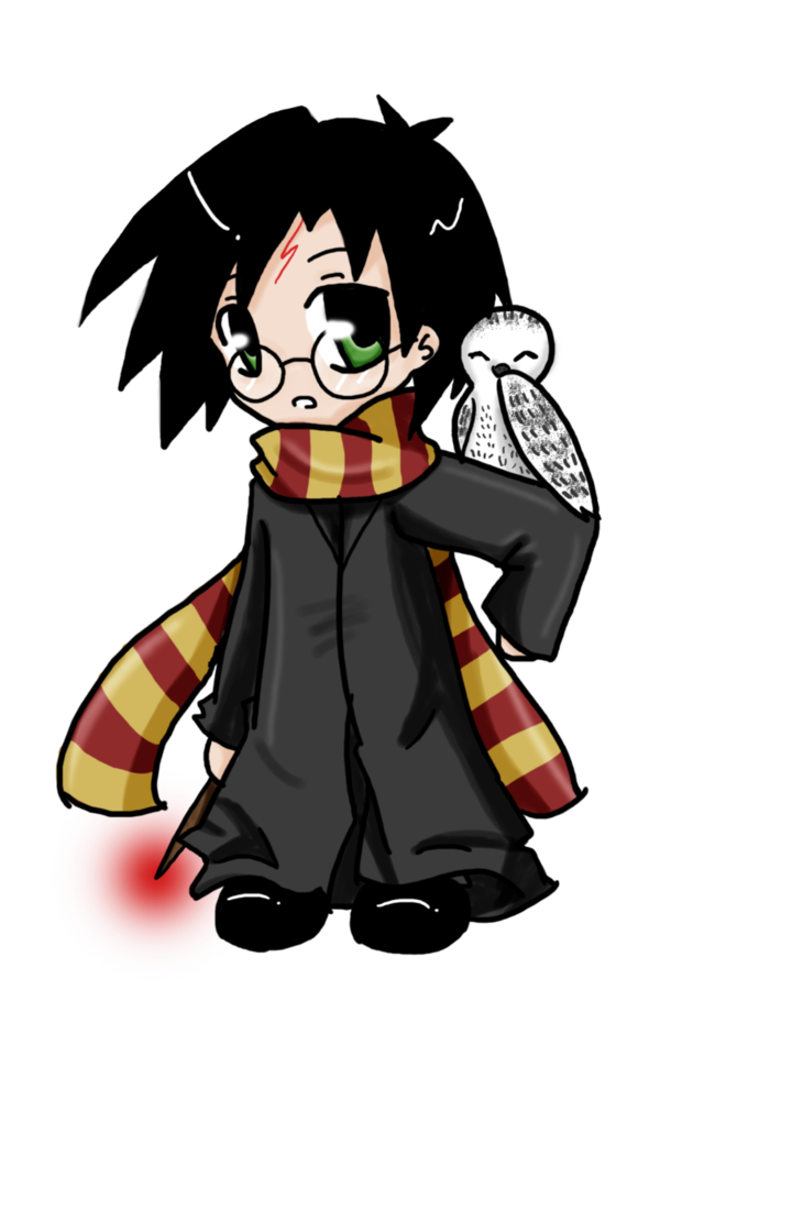 png free library chibi Potter by