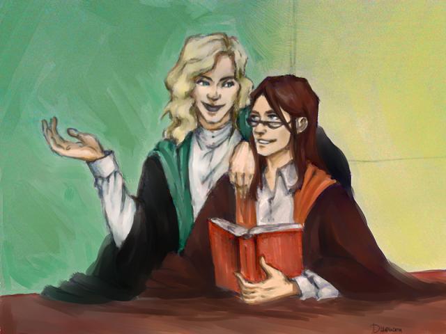 vector free Dumbledore drawing grindelwald. Hps albus x gellert