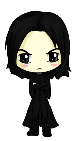 svg transparent Snape Chibi by IcyPanther