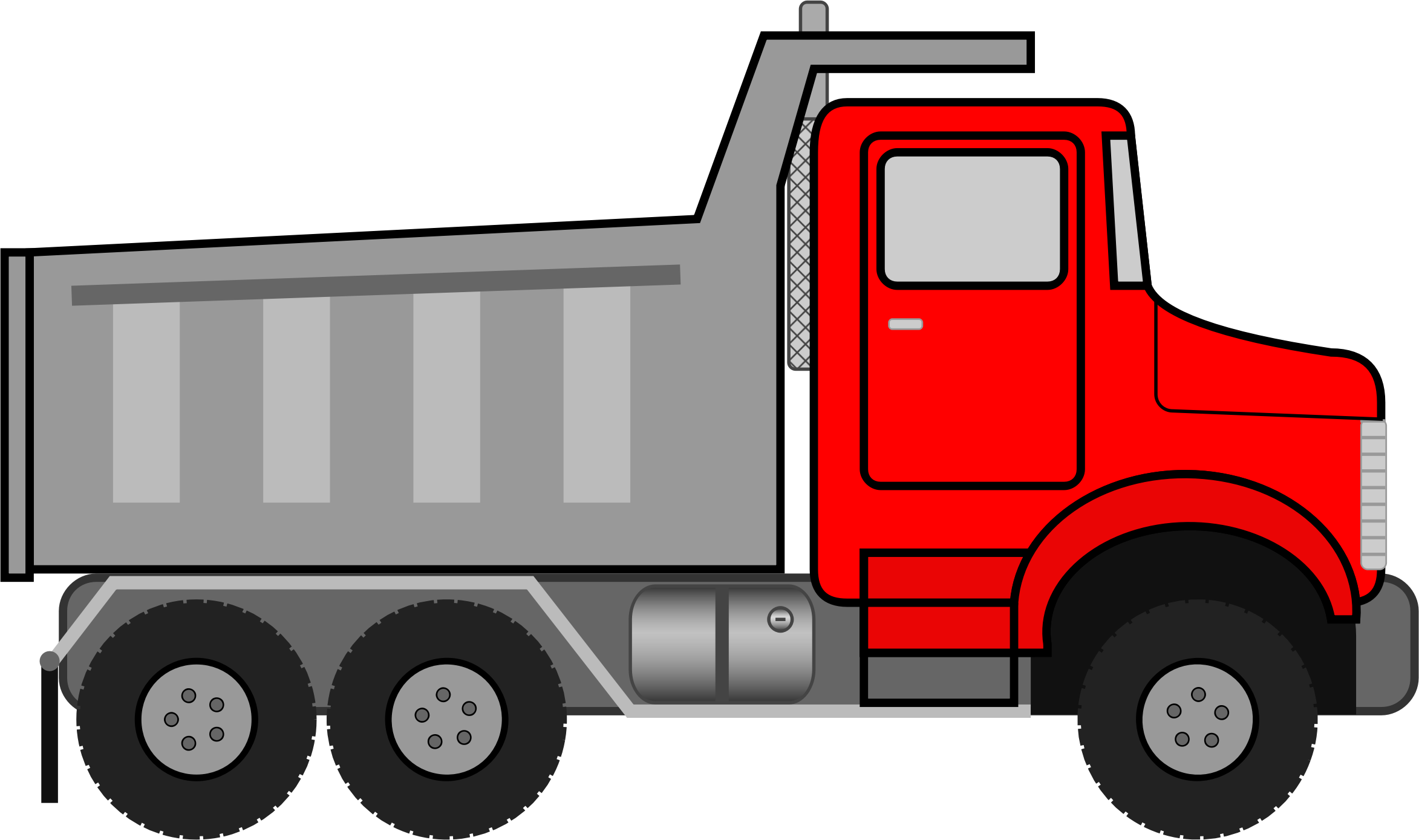 svg free Truck big image png. Dump clipart.