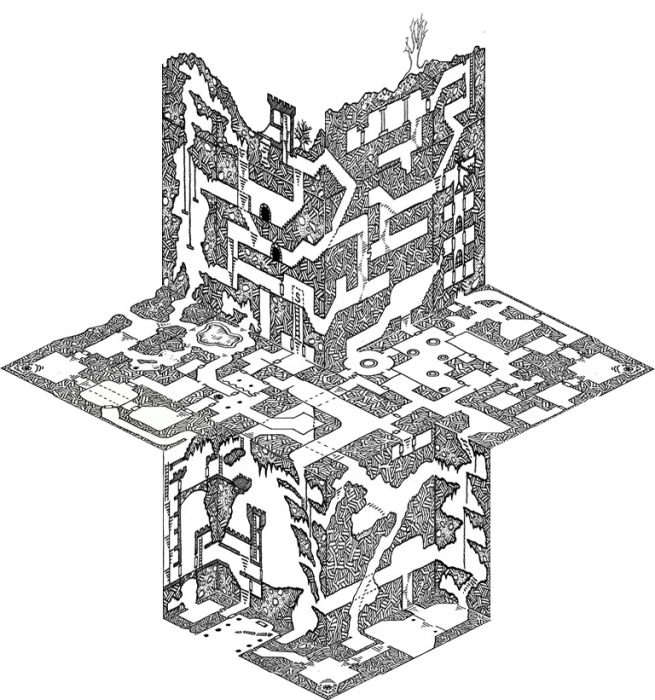 image library library Dungeon drawing. Risus monkey coolest use