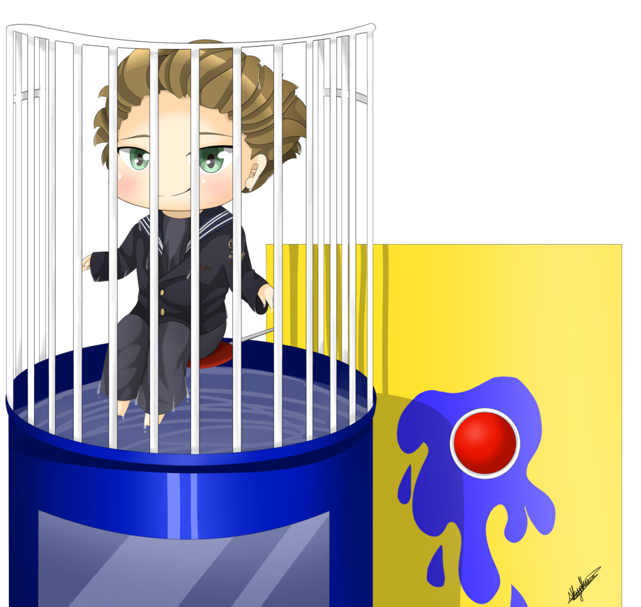 svg black and white library Locker clipart freshman year. Comm dunk tank by.