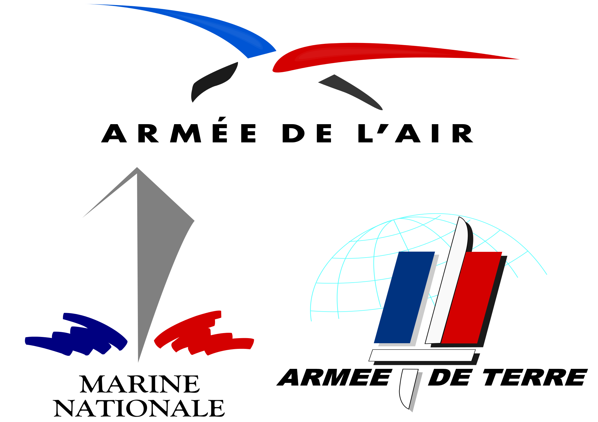 graphic freeuse stock French Armed Forces