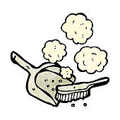 free stock Out of clip art. Dust clipart