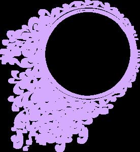 graphic Purple Vintage Clip Art at Clker